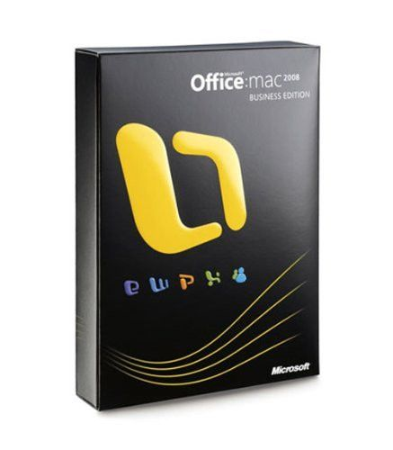 Microsoft Office for Mac 2008 Business Edition Upgrade