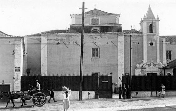 Lisboa de Antigamente: Convento do Sacramento