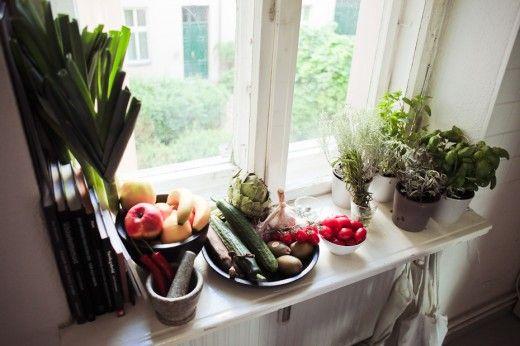bredare fönsterbräda till köket