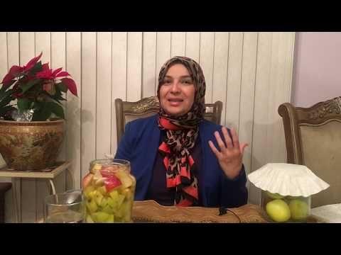 ابسط طريقة لعمل خل التفاح الطبيعي الخام الغير مبستر Youtube Detox Drinks Detox