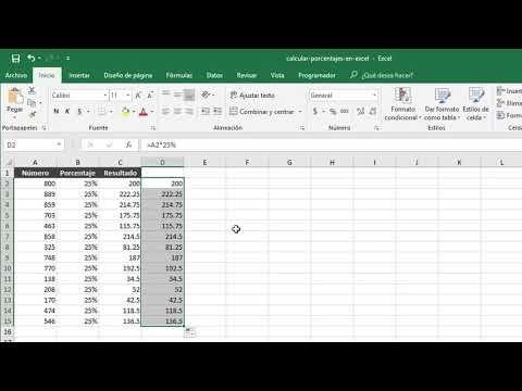 Cómo Calcular Porcentajes En Excel Youtube Calcular Porcentaje Informatica Y Computacion Excel Formulas