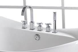 Deck Mounted Bath taps