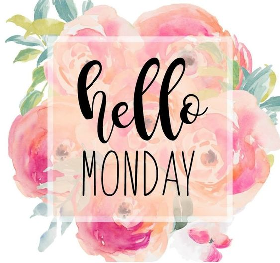 """Hello Monday"" Peony Quote - My Cancer Chic"