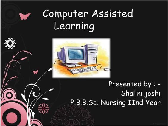 computer-aided-instruction by Shaells Joshi via Slideshare