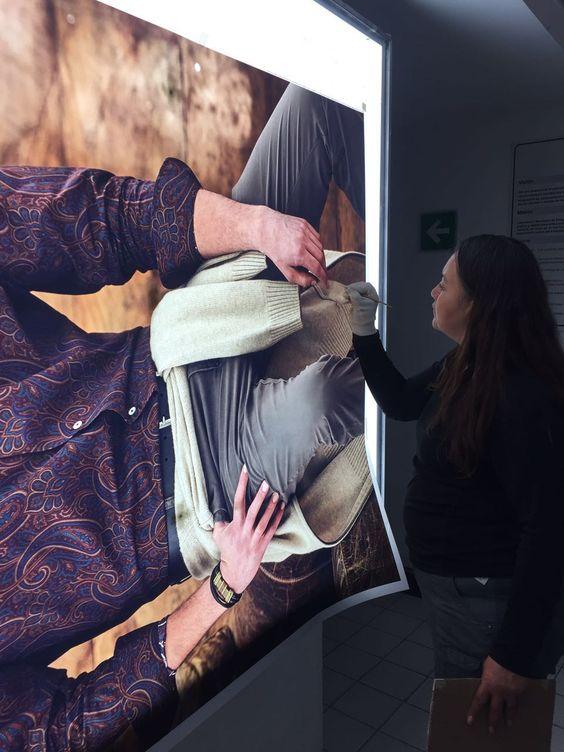 Impresión en papel duratrans (papel fotográfico para caja de luz) #LMIProducciones #Fineartprint #Art