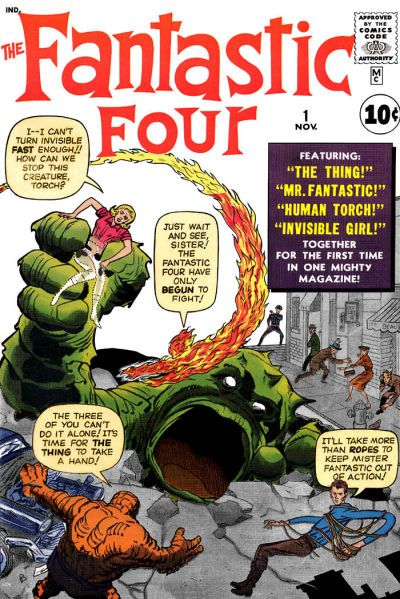 Fantastic Four # 1 by Jack Kirby & George Klein