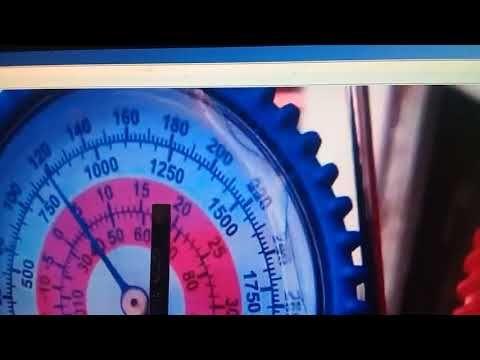 Escala De Temperatura Y Presión En Manometro De Refrigeración Youtube Manómetro Acondicionado Refrigeracion Y Aire Acondicionado