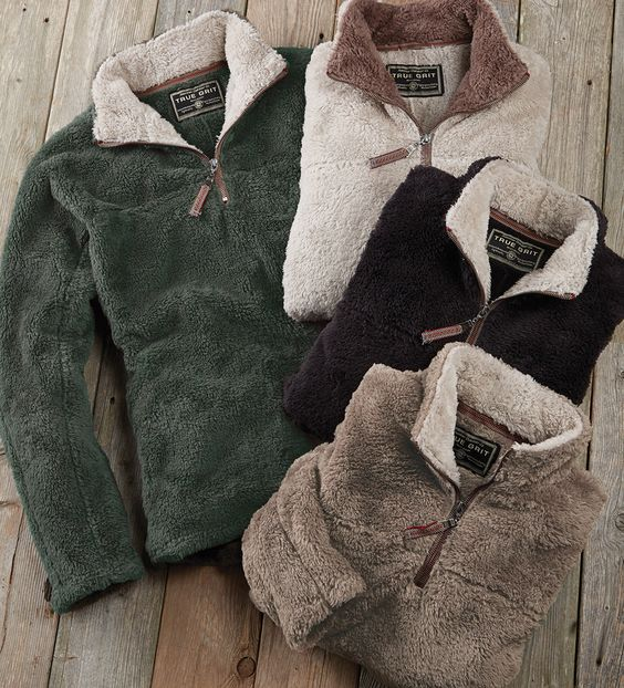 True Grit Flurr Quarter-Zip Pullover