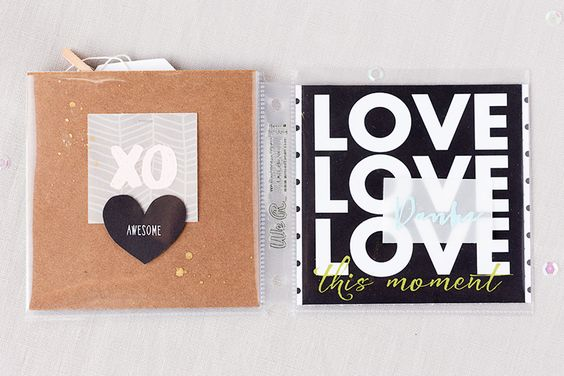 mojosanti ♥ Sandra Dietrich: 'What I love' ... 3. Teil mit dem PL Kit April 2015 der SBW und einem 4x4 Album von We R Memory Keepers