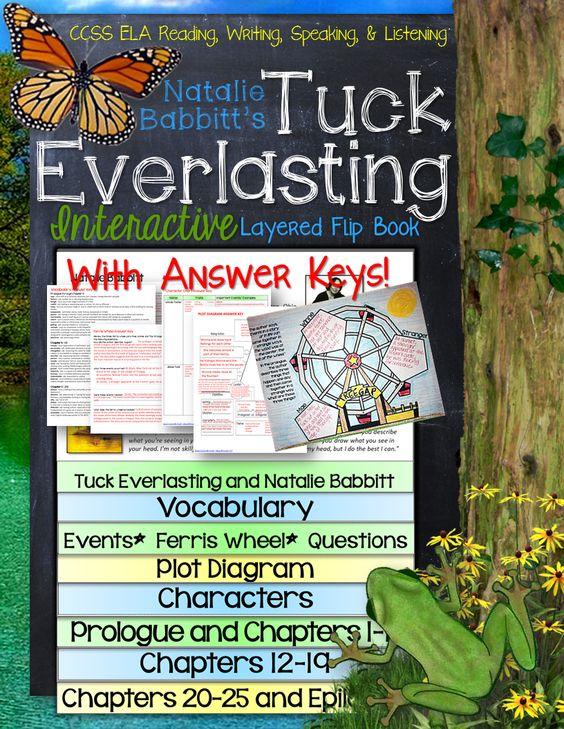 Tuck everlasting essay question