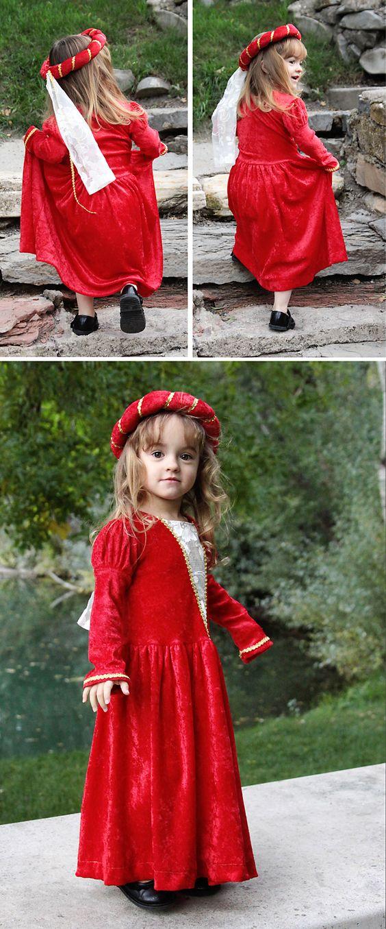 easy DIY princess Halloween costume | Diy princess costume ...
