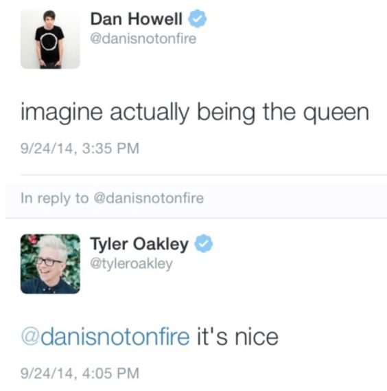 wow tyler<<This is me if someone mentions wanting to be Tyler Oakley to me-