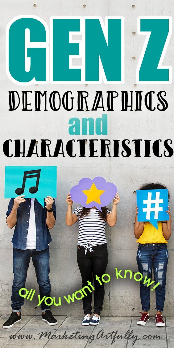 Gen Z Demographics And Characteristics Infographic Marketing Millennials Characteristics Relationship Marketing