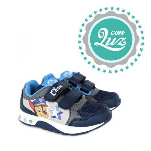 Zapatillas De Luces Para Niños De La Patrulla Canina Zapatillas De Niñas Calzado Niños Zapatos Para Niñas
