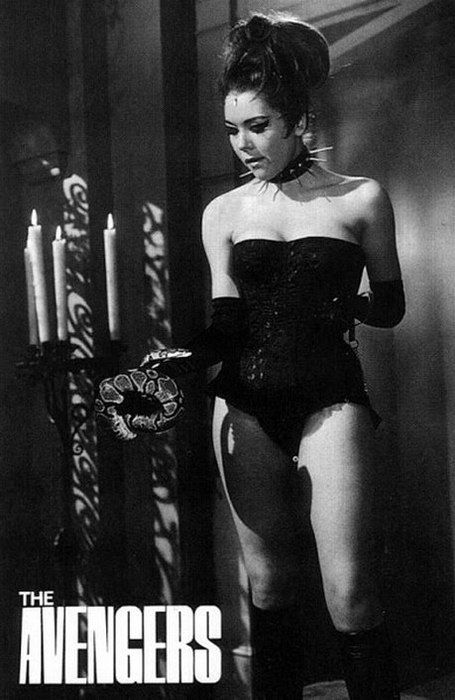 Mrs Peel( Diana Rigg) in The Avengers episode ' A touch of ...