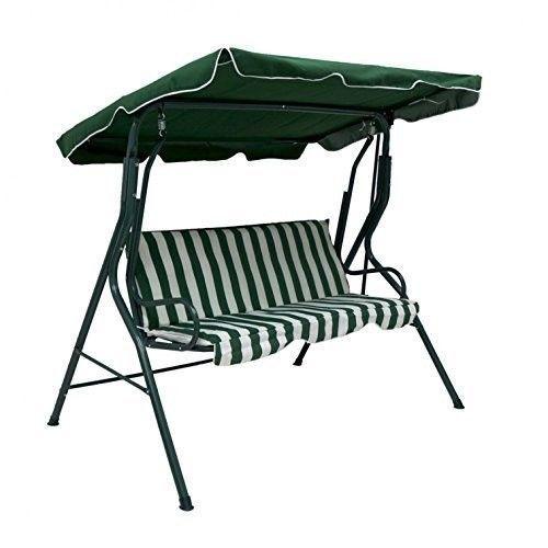 Deluxe Garden Swing Bench Patio Swinging Chair Hammock Outdoor