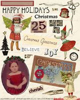 Digital collage sheet from Paper Relics. So cute!