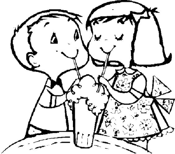Friends Coloring Book Page Friends