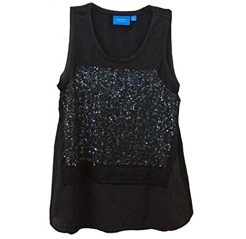Simply Vera Wang Long Tunic Style Sequins Black Women's Top Simply Vera http://www.amazon.com/dp/B00RGSHVDI/ref=cm_sw_r_pi_dp_rtwNub0095F1K