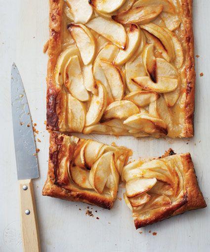 This rustic apple tart from Martha Stewart requires minimal prep for maximum flavor!