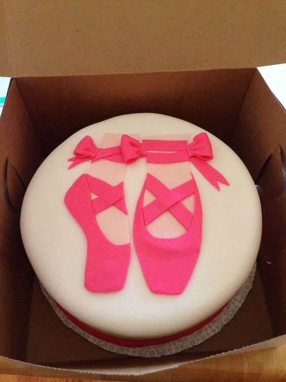 Ballerina Cake With Fondant Cakes And Stuff Pinterest