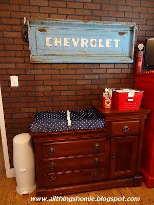 All Things Homie: Vintage Chevrolet Nursery