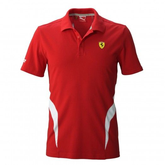 Ferrari Store: Puma Scuderia Ferrari Polo Shirt. #Ferrari #FerrariStore #Scuderia #ScuderiaFerrari #Polo #Shirt #PoloShirt #Passion #Support #Ferrarista #RedMaranello #RossoFerrari #Ferraristi #InsideFerrari #Car #Red #Black #Grey #Exclusive #Tifoso #CavallinoRampante #PrancingHorse #Puma #Motorsport #Racing #Spirit #Thrill #Race #F1 #GP #Cotton #Short #Sleeve #Italy