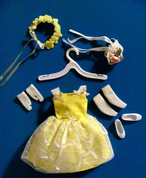 Vintage Barbie -Skipper Flower Girl #1904 (1964 - 1965)