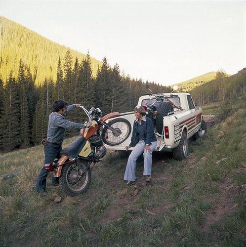 dirt bikes and denim!
