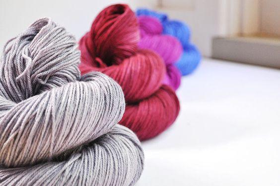 Sugared Plums - Colour Palette - Merino Silk Sport