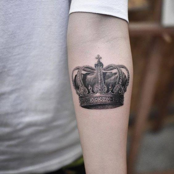 crown tattoo, men tattoo ideas