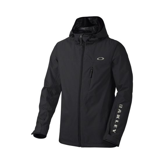 oakley online store  shop oakley cresent biozone? shell jacket in jet black at the official oakley online store