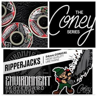 54 mm RipperJack Conical wheels