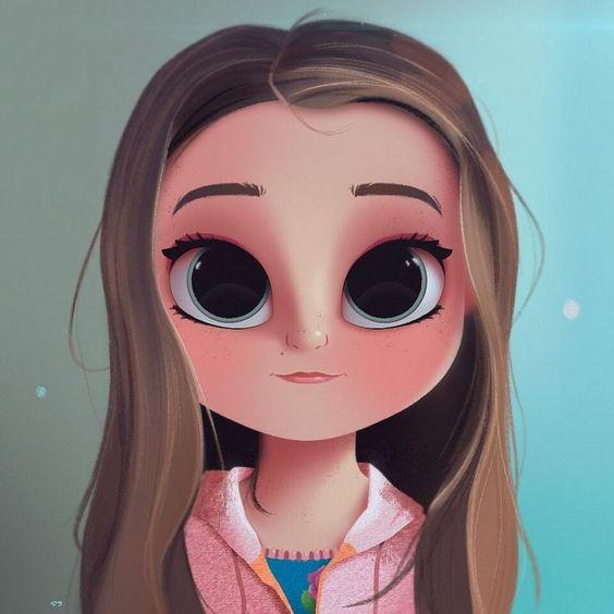 صور بنت كرتون صور كرتون لبنت جميلة الاصدقاء للاصدقاء Cartoon Drawings Cartoon Girl Drawing Cute Drawings