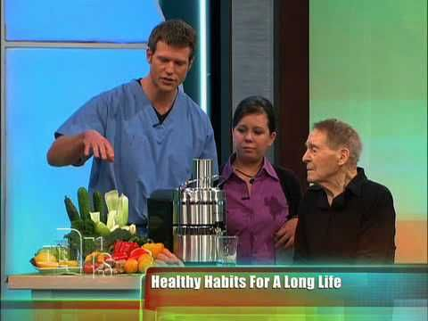 http://www.squidoo.com/jack-lalanne-juicer-recipes - I just love Jack Lalanne and his entire attitude!  This video is on my page that has his juicer recipes.  It's a clip of Mr Lalanne on the TV show called 'The Doctors'.  Jack LaLanne and the Power Juicer Pro on The Doctors