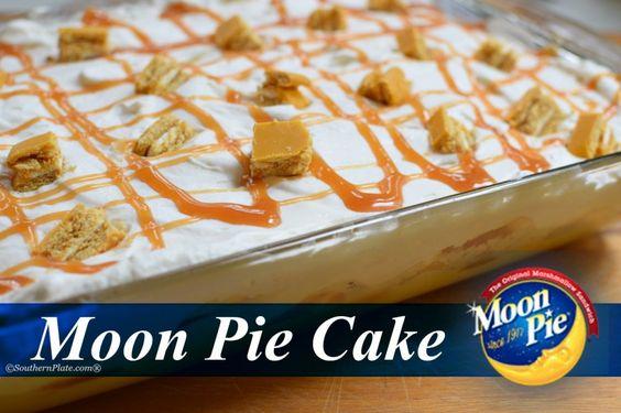 Moon Pie Cake - And Surprising Jeff Foxworthy :)