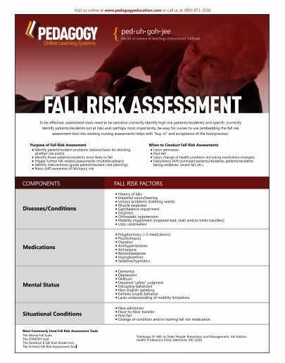 Facts About Fall Risk Assessment To Be Effective