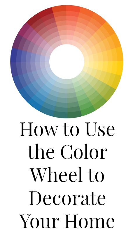 Learn How To Use The Color Wheel To Pick The Perfect Color Palette For Your Home Home Decor