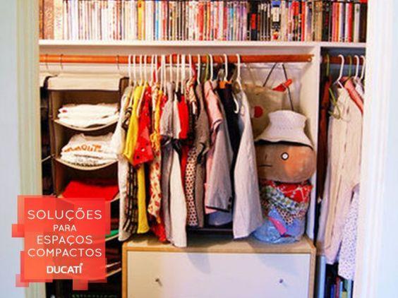 Agora não tem mais desculpa para deixar o armário desorganizado. Com a versão aberta, você usar isso como um acessório do seu quarto.