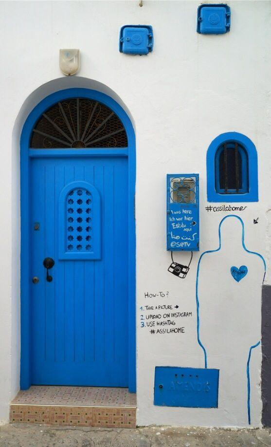 Asilah Morocco  city photos : Asilah, Morocco | Doors | Pinterest | Morocco, Blue Doors and Doors