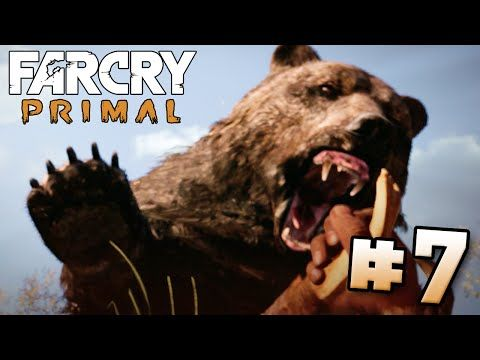 Cave Bear Attack Far Cry Primal Part 7 Ps4 Hd Youtube