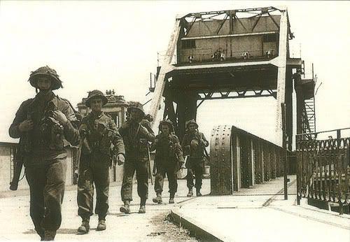 Pegasus Bridge, june 1944.