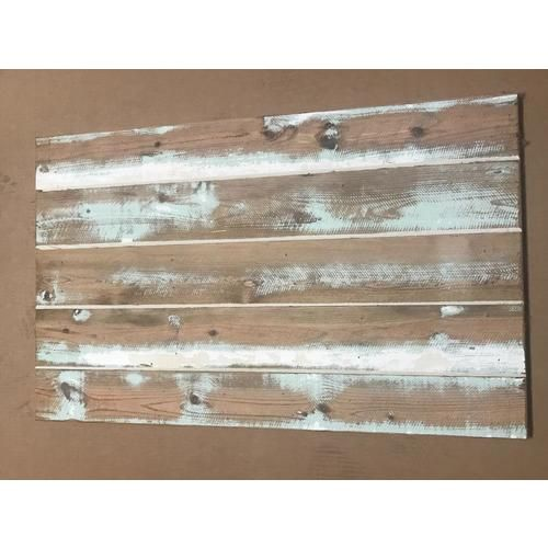 Four Seasons Outdoor Productbarnwood Shiplap 5 In X Variable Length 4 Ft Turquoise And White Pine Shiplap Wall Plank Cove Ship Lap Walls Wall Planks Barn Wood