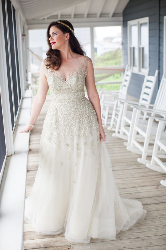 All About Plus Size White Dresses