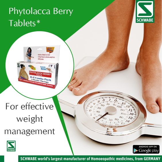 Homeopathy Treatment for #Weightloss!!  Want to lose your weight in the right way? Try SchwabeIndia's  #PhytolaccaBerry tablets for weight loss. It has no side effect.