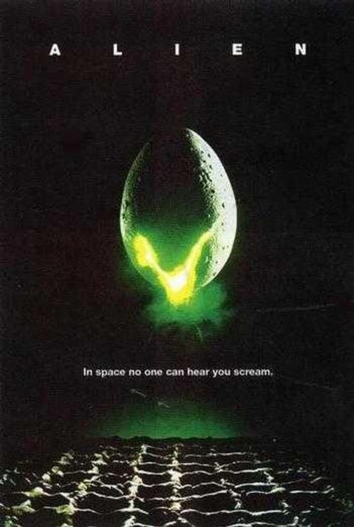 One of the scariest movies ever.. I'll never forget when the 1st alien burst from Kane's chest and scooted off squeeling! Eeek!