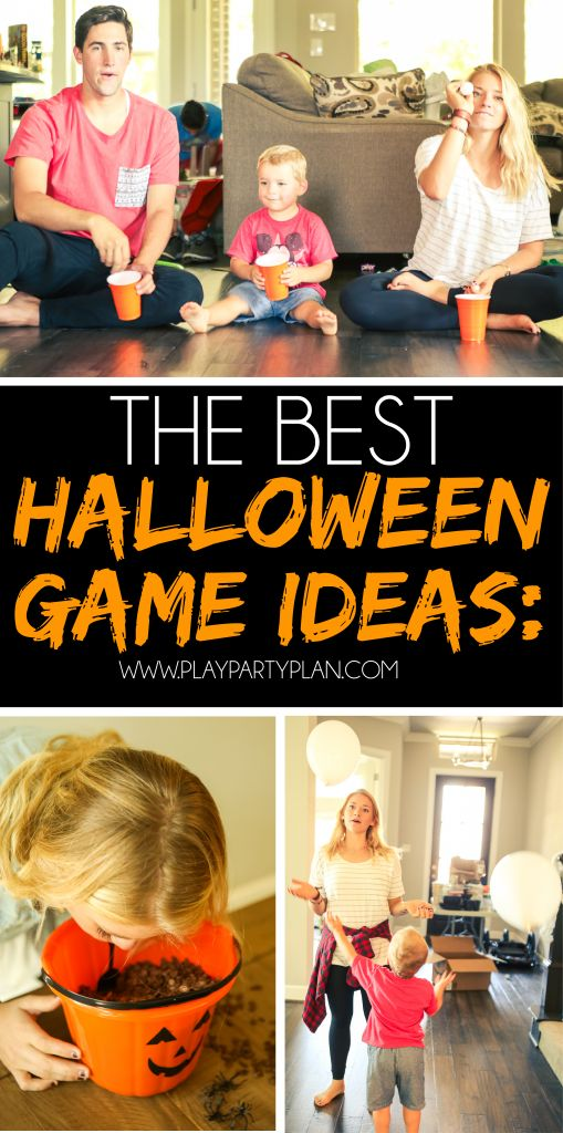 These Are Some Of The Best Halloween Games Out There Perfect For Adults Older Kids Or Even Children As Young Preschool Play Them Eit