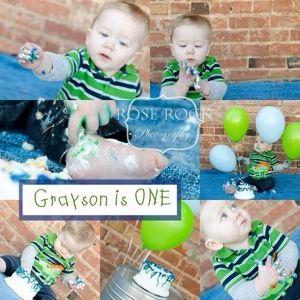 Cake smash, boy birthday, first birthday, boy, Rose Rock Photography