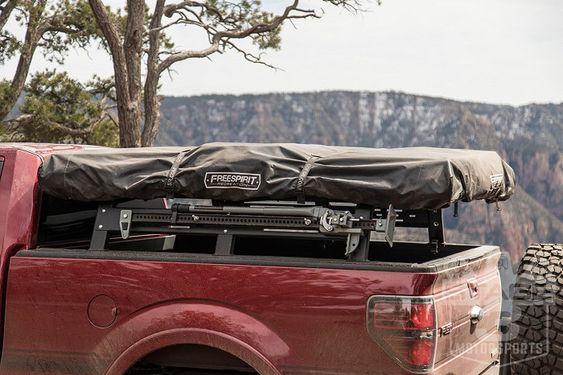 2009 2018 F150 Rci Bed Rack F150bedrack Top Tents Overlanding Truck Bed