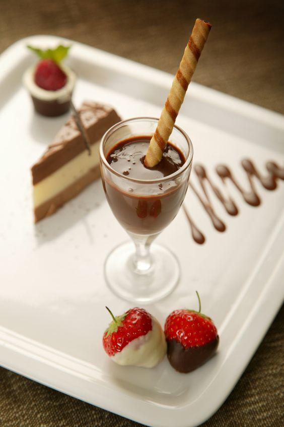 a trio of #desserts..